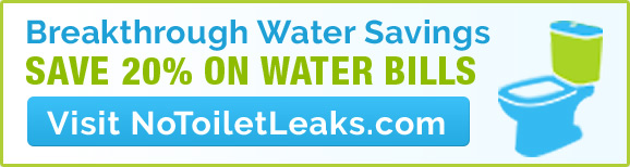 Save 20% on Water Bills